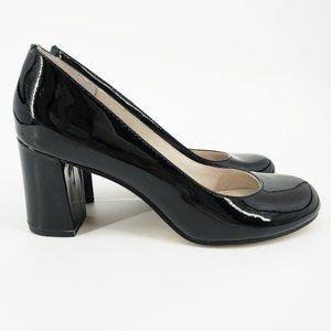 Bettye Muller Colette Block Heel Pumps Black